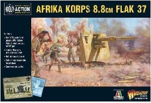 Bolt Action - Afrika Korps 8 8cm Flak 37 (88mm) Anti-tank gun